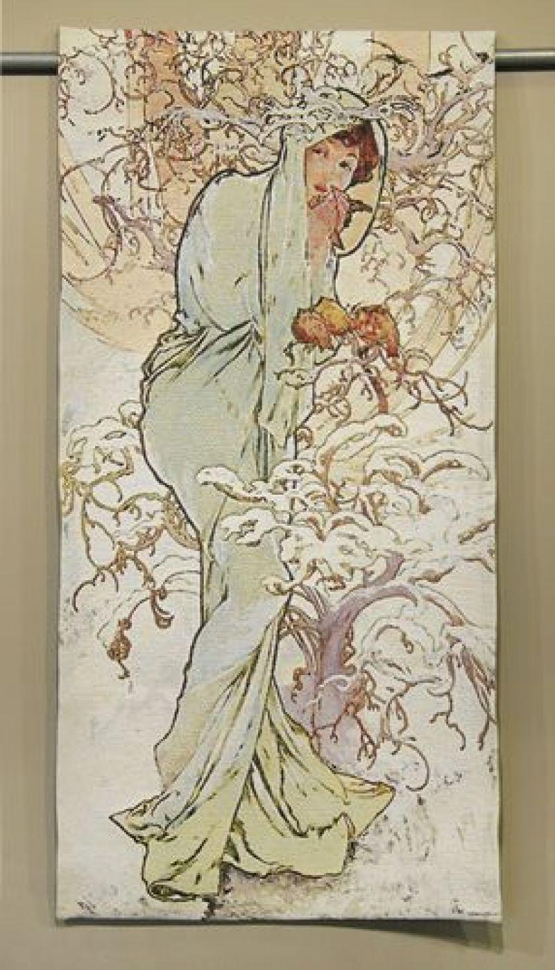 mucha art nouveau flanders tapestries
