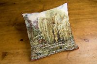 Monet's Garden - Bridge Cushion
