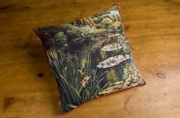 Monet's Garden - Greenery Cushion