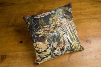 Monet's Garden - Yellow Flowers Cushion